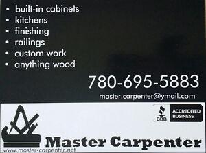 Quality woodwork by certified German Master Carpenter Edmonton Edmonton Area image 1