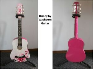 Disney by Washburn Guitar, Gig Bag, and Flip It Stand