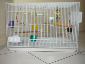 bird Cage with Nest box,Toys and All accessories.