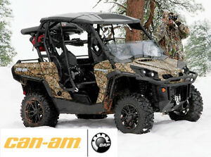 2012 CAN-AM COMMANDER 800 XT CAMO EDITION FOR SALE LIKE NEW
