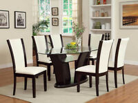 ★★★TODAY Get this modern 7pc Oval dining room with chairs★★★