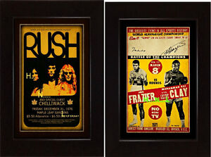 AIL-BEATLES-RUSH-PRINCE-STONES-KISS-AC/DC-WHO-FLOYD ROCK POSTER