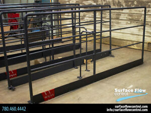 Engineered Handrails | Surface Flow Control