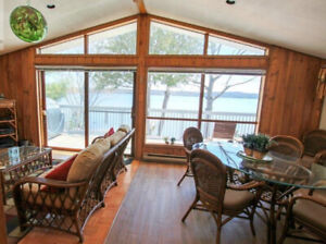 Waterfront Cottage - All Seasons, near ski hills, 1 hr from TO