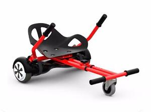 hoverboard cart Go cart hovercart HOVERSEAT - SITTING ATTACHMENT FOR HOVERBOARD. HOVERBOARD KART hover buggy