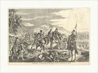 Vor fünfzig Jahren: Die Schlacht bei Kulm Kleist Fikentscher Holzstich E 11502