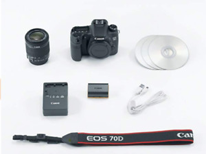 Canon 70D with Kit Lens 18-135mm and 10-22mm SIGMA Lens