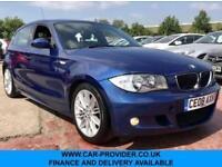2008 08 BMW 1 SERIES 116I M SPORT 1.6 5DR 121 BHP