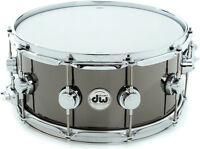 DW 14 x 6.5 Collector's Series Black Nickel Over Brass Snare