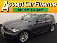 BMW 118 2.0TD 2008MY d M Sport FROM £25 PER WEEK!