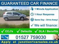 FIAT GRANDE PUNTO 1.2 2008 08 - GUARANTEED CAR FINANCE BAD CAR CREDIT