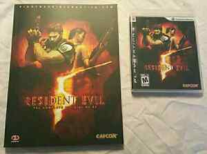 RESIDENT EVIL 5 + STRATEGY GUIDE PLAYSTATION 3