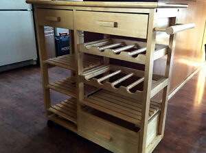 Wine Rack Trolley