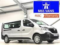 RENAULT TRAFIC 9 SEATER MINIBUS LL29 BUSINESS 1.6DCI 2015 LOW MILEAGE SILVER