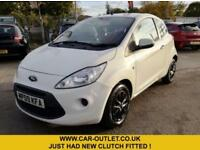 2009 09 FORD KA STYLE 1.2 3DR 69 BHP-NEW CLUTCH FITTED