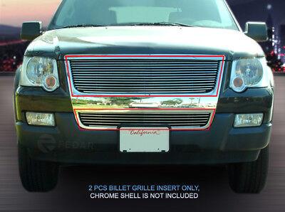 - 06-07 2007 Ford Explorer Billet Grille Grill Combo 2006 Fedar