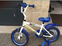 Apollo kids bike . Boys bike . Police bike . Apollo bike . 14 inch kids bike