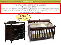 BUY 1 GET 1 FOR 50% OFF! CONVERTIBLE BABY CRIBS SETS SUMMER SALE