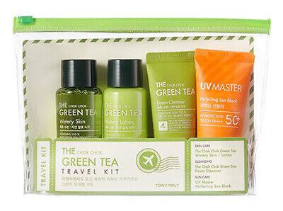 [TONYMOLY] The Chok Chok Green Tea Travel Kit (Skin, Lotion, Cleanser, -