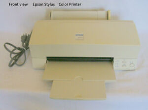 Epson Stylus Color 600 printer, original box, set-up & user manu