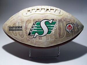 SASK ROUGHRIDER 2005 FOOTBALL - SIGNED