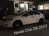 Honda Civic DX 2012 Honda Plus