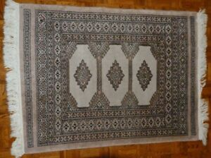 Two lovely matching oriental rugs.