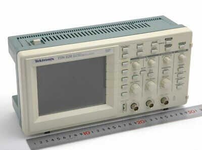 1pc Used Tektronix Tds220 100mhz Tested Dhl Or Ems P3906 Ll