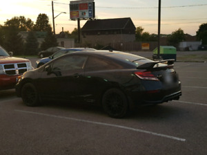 2014 Honda Civic Si Black