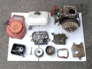 my Honda G200 horiz parts engine for a 5hp Briggs