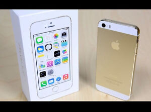 !! iPhone ** 5s --16GB >>ROGERS << WHITE / GOLD  *MINT IN BOX!