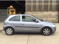 2005 VAUXHALL CORSA SXI GREY LOVELY LOW MILEAGE HPI CLEAR PX