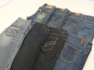 Brand Name Jeans - Size 4-6 - 8 Pairs