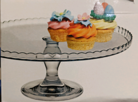 Cake Stand/Serving Plates for cakes- Brand new