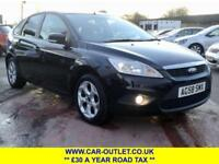 2008 FORD FOCUS STYLE 1.6 TDCI LONG MOT SERVICE HISTORY 5DR 107 BHP DIESEL