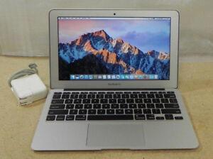 MacBook Air 11 .6 inch, intel i7, RAM 8 GB and SSD 128 GB
