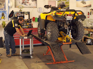 ATV Tune-Up Repair Maintenance Inspection Fix Rebuild Service