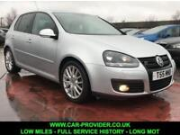2008 VW GOLF GTTDI 2.0 LOW MILES FULL SERVICE HISTORY LONG MOT 138 BHP DIESEL