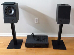 Stereo System - NAD L40, Acoustic Research M1, Target Stands