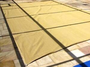 SHADE SAIL RECTANGULAR 7 x 4 M DESERT SAND LIKE NEW Stoneville Mundaring Area Preview