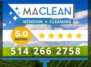 WINDOW CLEANING / LAVAGE DE VITRES