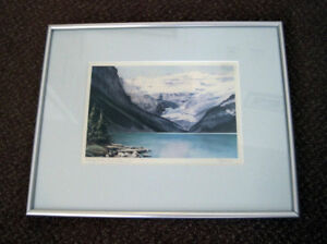 Alberta Scenic Water Colour Prints – Pair