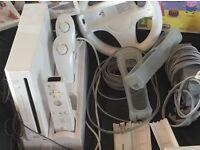 Nintendo Wii with sky landers