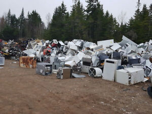 free scrap metal and appliances drop off site