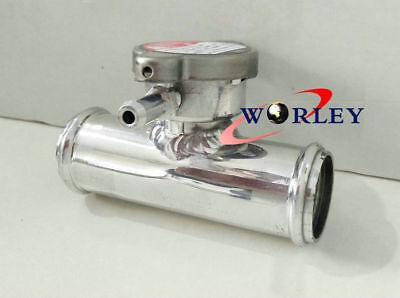 1 14 32mm OD All Aluminum In Line Radiator Hose Connector Filler NeckCap