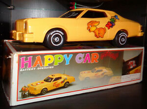 1/18 Battery Operated Happy Car Musical Blinking Light 73 Torino