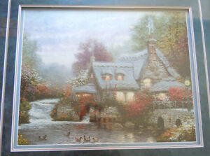 Thomas Kinkade - The Miller's Cottage, Thomashire
