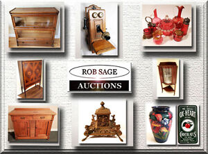 OLD FASHIONED, LIVE, SATURDAY NIGHT COUNTRY ANTIQUE AUCTION!