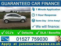 BAD CREDIT CAR CREDIT GUARANTEED CAR CORSA 1.2 SXI VAUXHALL 3 DOOR 2012 62
