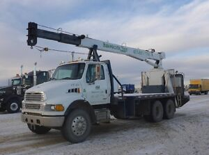 Sterling 4 ton boom truck - blowout price!